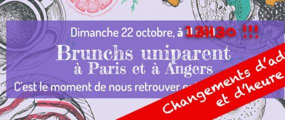 Allons bruncher tous ensemble à Paris et à Angers ce dimanche !