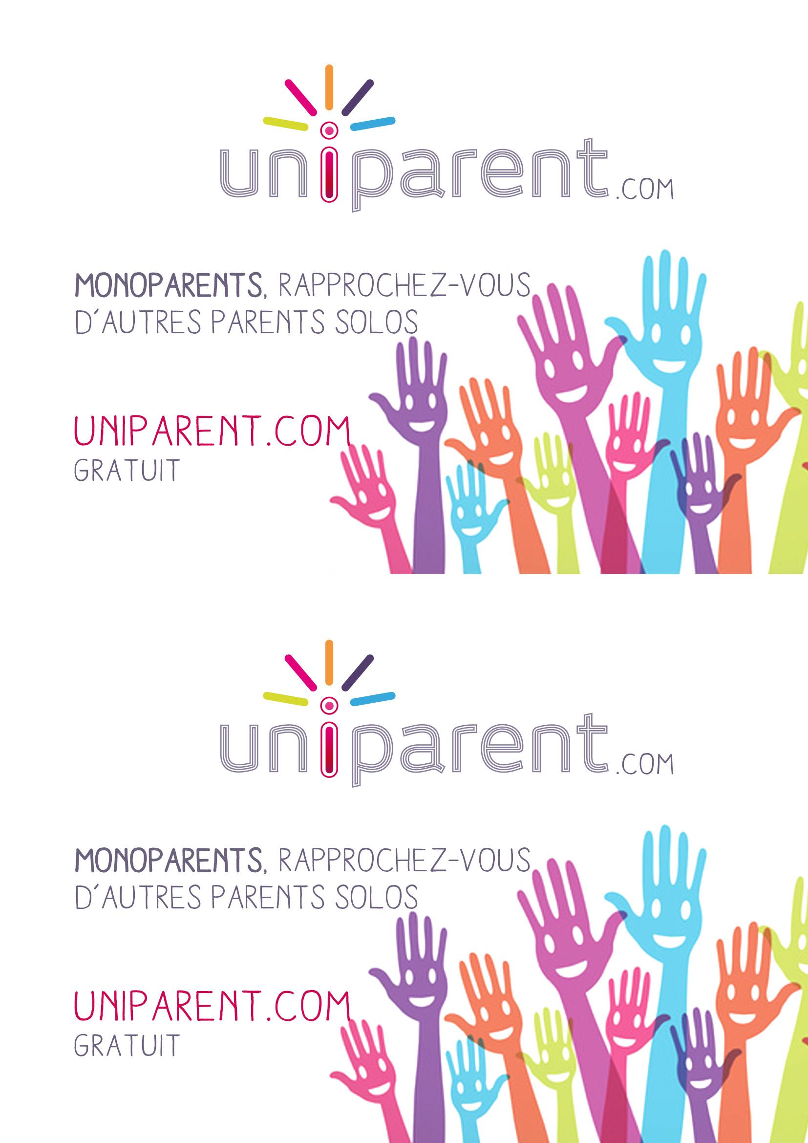 1 monoparents + des monoparents = uniparent.com