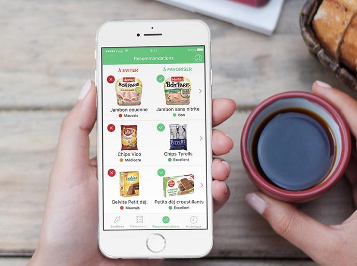 Aide au choix pour les courses de nourriture